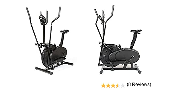 GELUSA Bicicleta ELÍPTICA ESTÁTICA Cross Trainer: Amazon.es ...