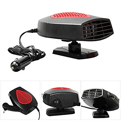 Vovomay_Fan 12V Auto Car Heater Cooler Dryer Fan-Vovomay Portable Defroster Demister 150W Warm New