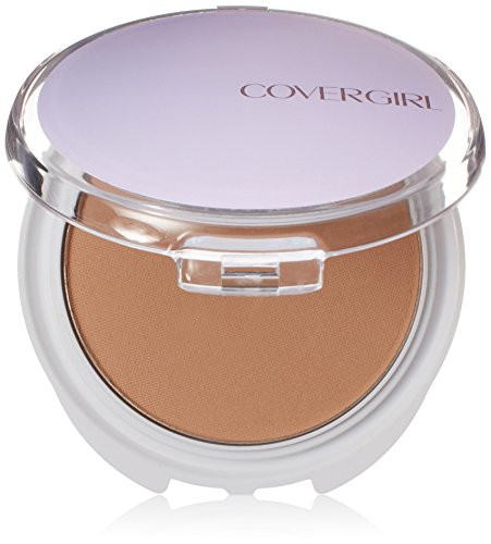CoverGirl Advanced Radiance Age-Defying Pressed Powder, Natural Beige 120, 0.39-Ounce Pan (Pack of 2)