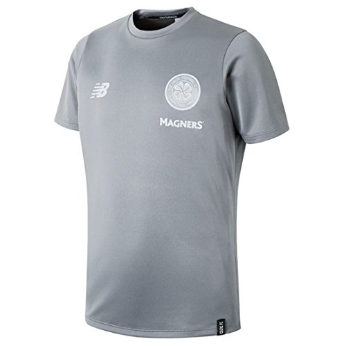 b0e1f4b1b New Balance Celtic FC Junior Leisure Short Sleeve T-Shirt 2018 19 - Hoops  Merch