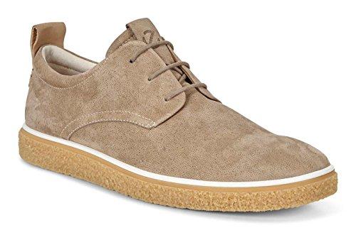 200354 Sneakers Scarpe Crepetray ECCO Uomo Beige Pelle Lacci Beige Powder vxUgp