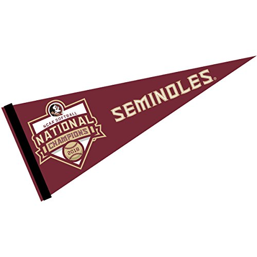 College Flags and Banners Co. Florida State Seminoles 2018 NCAA Softball National Champions Pennant