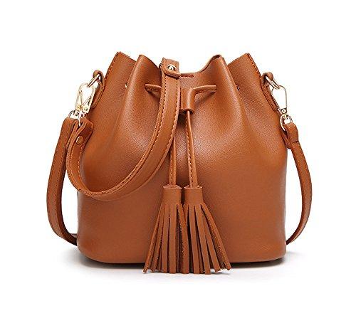 Imzoeyff Casual Handbag Bag Shoulder Bag Tassel Fashion Small Fashion To Women
