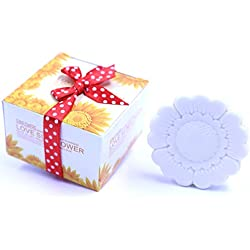 Sunflower Style Soap Favors for Wedding Party Favors Bridal Shower Party Favors and Gifts or Baby Shower Party Favors (24 Pack)