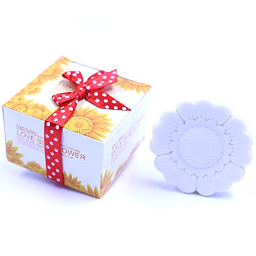 AiXiAng Sunflower Style Soap Favors for Wedding Party Favors Bridal Shower Party Favors and Gifts or Baby Shower Party Favors (24 ()