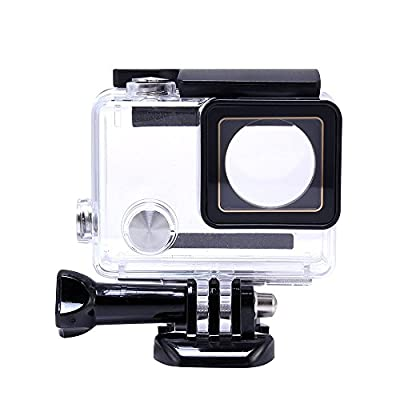 Pacuwi Replacement Waterproof Case Protective Housing Cover with Bracket for GoPro Hero4, 3+, 3 Outside Sport Camera from Pacuwi Tech