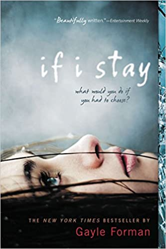 Image result for If I Stay by Gayle Forman book cover