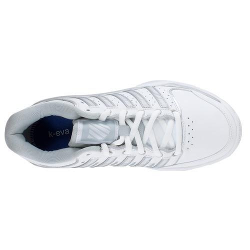 Silver M 5 Glacier Shoes B Gray Hypercourt Swiss US White K LTR Express 6 Tennis Women's 8fq6WHA