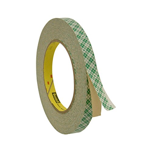 - 3M Scotch 410M Double Coated Paper Tape: 1/2 in. x 36 yds. (Off-White)