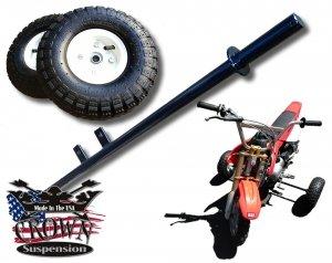 Honda CRF50 XR50 CRF XR 50 Motorcycle Training Wheels by Crown Suspension