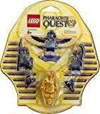quest for egypt - LEGO Pharaohs Quest Mummy Battle Pack Serpent Warrior Mummy X2, Flying Mummy Golden Sarcophagus