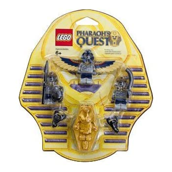 amazon com lego pharaohs quest mummy battle pack serpent warrior