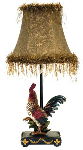 Dimond 7-208 Sterling Home Petite Rooster Table Lamp (Rooster Table Lamp)