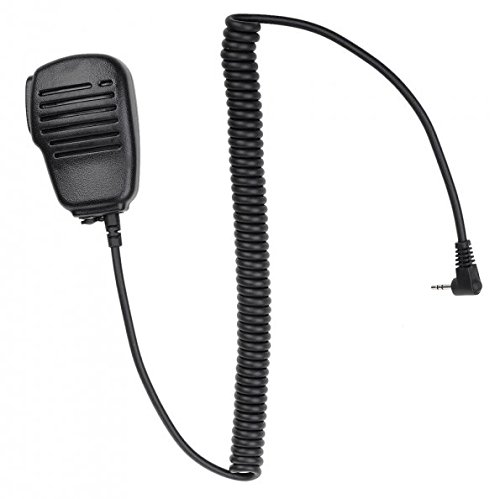 Generic 2 5mm Black Rainproof Microphone