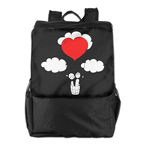 Valentines Day I Steal Hearts Fashion Outdoor Men And Women Travel Backpack Travel Knapsack ZHONGRANINC