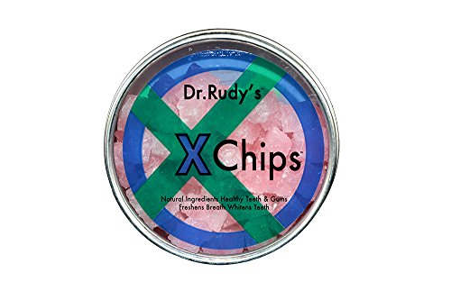 Dr Rudy's Xchips with Pure Xylitol - Xylitol Candy (Bubble (Dry Candy)