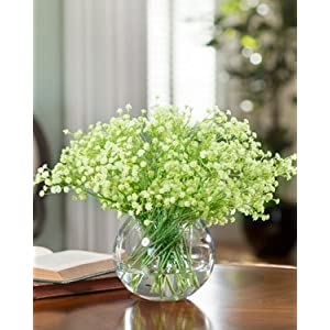 Petals Silkflowers Baby's Breath Accent - Green 47