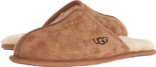 Used, UGG Men's Scuff Slipper Chestnut 12 M US for sale  Delivered anywhere in USA