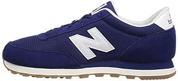 New Balance Men's Ml501 Sneaker, Navywhite, 8.5 D Us 4