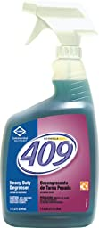 Clorox 35296 Formula 409 32-Ounce Heavy-Duty Degreaser And Disinfectant Spray Bottle (Case of 9)