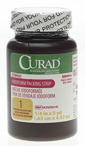 Iodoform Gauze Packing Strip, 1/4