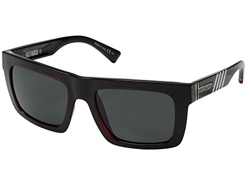 VonZipper Mens Donmega Sunglasses, Fasthouse Red / Gray Chrome Lens, One - Sunglasses Grilamid