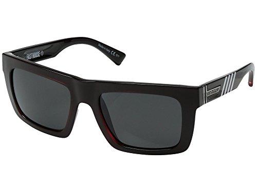 VonZipper Mens Donmega Sunglasses, Fasthouse Red / Gray Chrome Lens, One - Glasses Sun Vonzipper