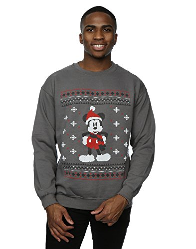 Mickey Mouse Scarf Christmas Sweatshirt