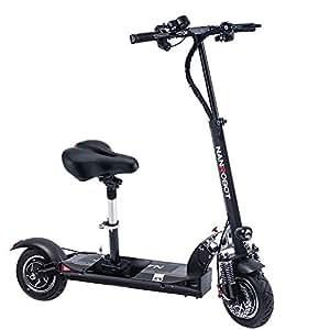 Amazon.com: NANROBOT D5 + Potente Scooter Eléctrico Plegable ...