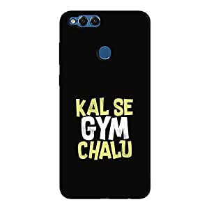 Cover It Up - Kal Se Gym Chalu Honor 7x Hard Case