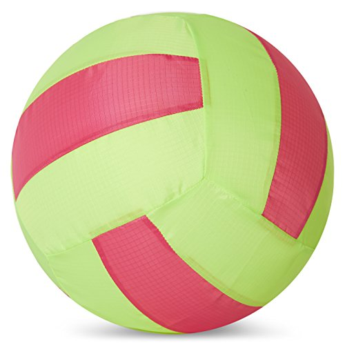 Balloon Skinz Fabric Balloon Cover Sports Play Ball 2-Pack - Includes 10 Latex Balloons (Volleyball 2 pcs) (Best Volleyball Pc Game)