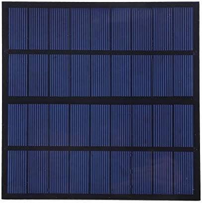 Dgtrhted 3W 9V Solarmodule Ladegerät Polykristalline Silizium-DIY Solar-Ladegerät