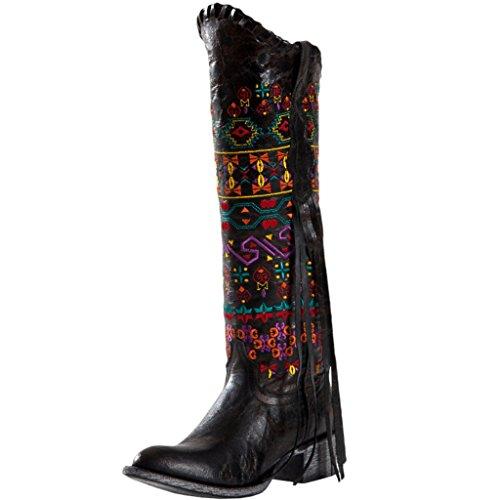 Johnny Ringo Women's Bailey Western Boot,Black,10 B US