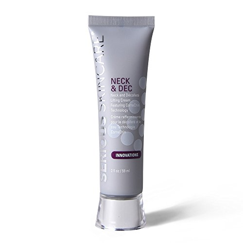 Serious Skincare Neck & Dec Lifting Cream, 2 Ounce (Decolletage Lifting Cream)