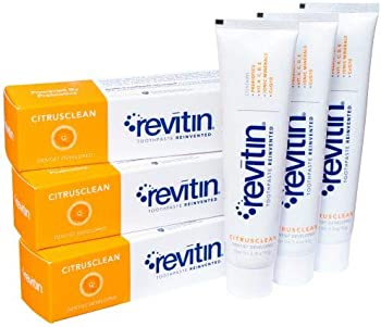 3-Pack Revitin Natural Toothpaste & Prebiotic Oral Therapy
