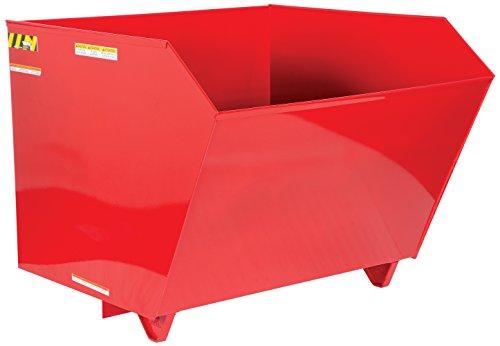 Vestil H-150-MD-SR Self Dumping Hopper MD, 1.5 cu. yd, 4000 lb. Capacity, 51.8125