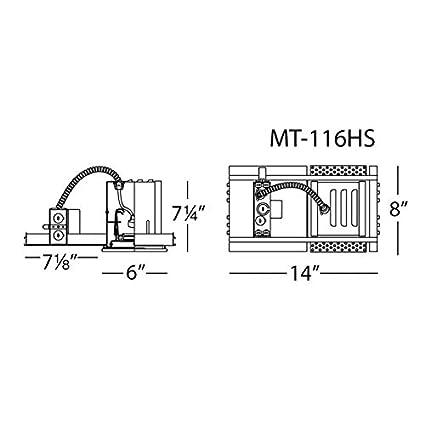 WAC Lighting MT-316HS Multi Spot Housing for Mt316