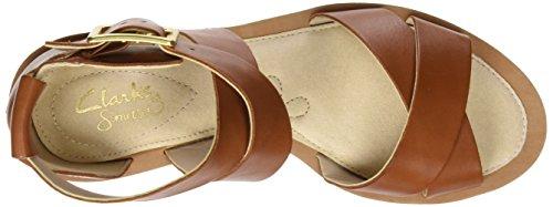 Leather Sandalias Mujer Marrón Tan 261228724 Clarks 7TcZpqRUT