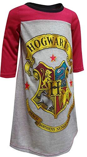AME Sleepwear Girls' Harry Potter Hogwarts Crest Nightgown (4)