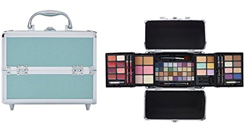 Ulta Beauty Makeup Set Gift Box Love Makeup 72 Piece Collection $200 Value  (Mint Green)