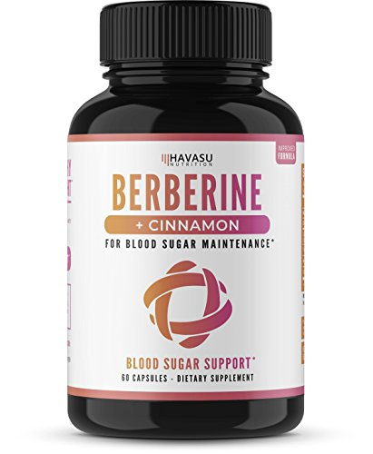 Berberine + Cinnamon - Supports Healthy Blood Sugar Levels