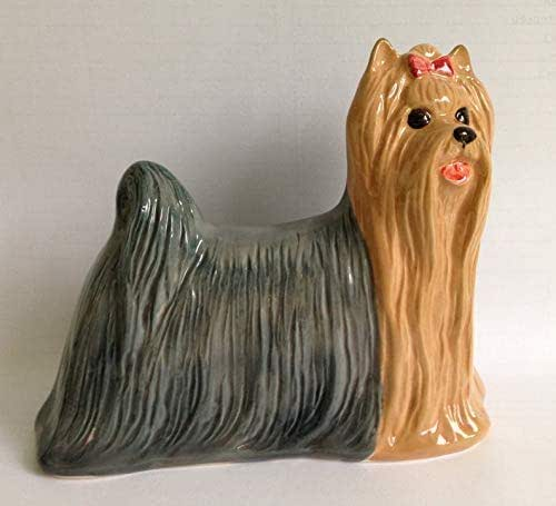 Bridal Shoes Yorkshire: Amazon.com: Yorkshire Terrier Faience Figurine, Handmade
