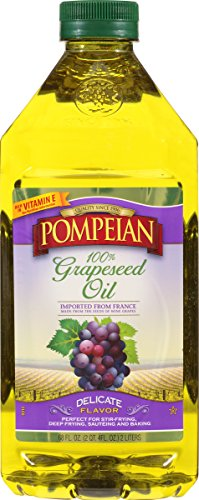 Pompeian Grapeseed Oil, 68 Ounce