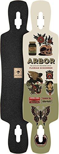 Arbor Catalyst Artist Skateboard Deck, Nocturnal, 40