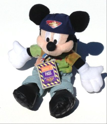 Rock 'N Roller Coaster Mickey Mouse Plush