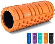 eletecpro Roller Foam,Free Portable Bag Massage Roller for Deep Tissue Massage, Exercise,Yoga,Pilates