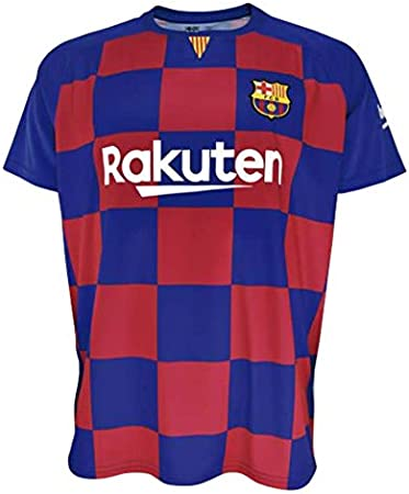 Boys size 4 years T-shirt and pants set 1st kit FC Barcelona 2019-20 Suarez 9 dorsal Replica with a License