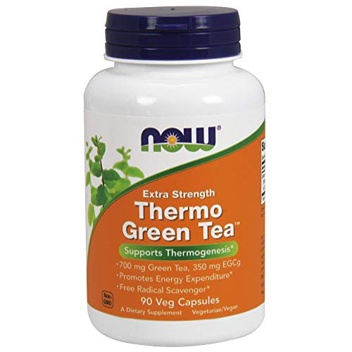 NOW Thermo Green Tea,90 Veg Capsules