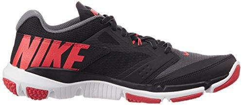 Nuovo Flex Supreme Tr 3 Cross Trainer grigio / rosso audace 8, Dark Grey/Black/Daring Red, 41