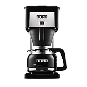 BUNN BX Velocity Brew 10-Cup Coffee Brewer – Best Coffee maker and worth every penny.